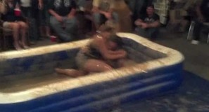 The eagles mud wrestling - YouTube thumbnail