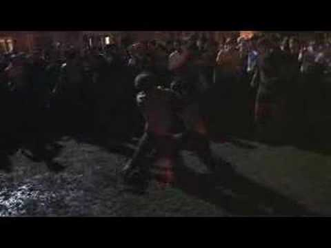 Duke-UNC Victory Celebration – Mud wrestling - YouTube thumbnail